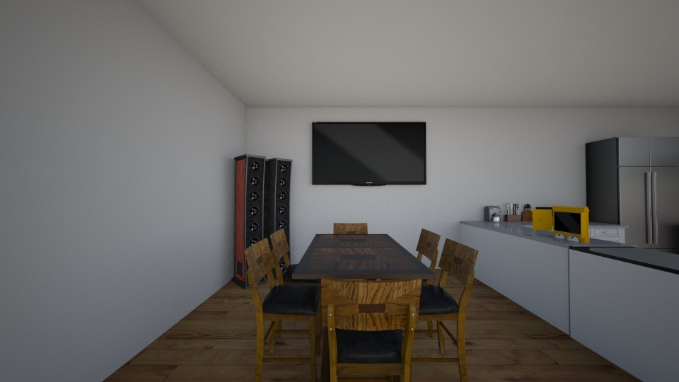 casa - Dining room - by nathanaelganador04