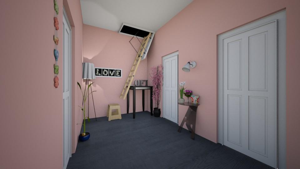 Hamilton Home Hallway_3 - Glamour - by LovelyLadyB