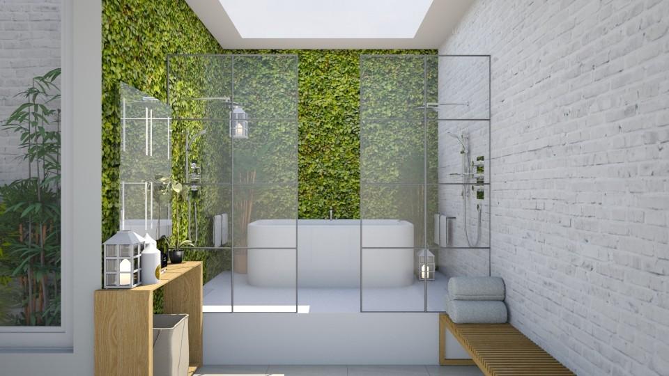 shared bathroom - Modern - Bathroom - by daniellelouw