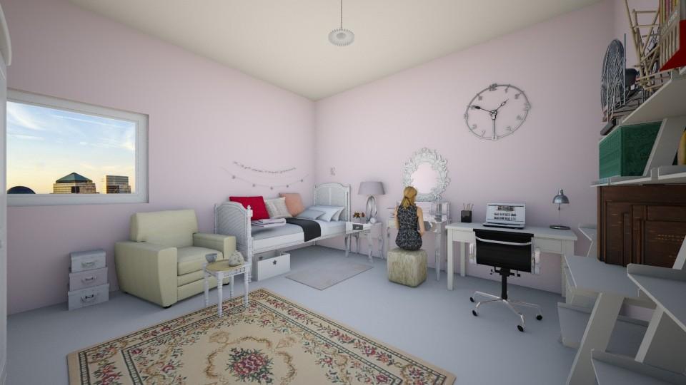 Feminin room teens - Bedroom - by kimiia Sadeghi
