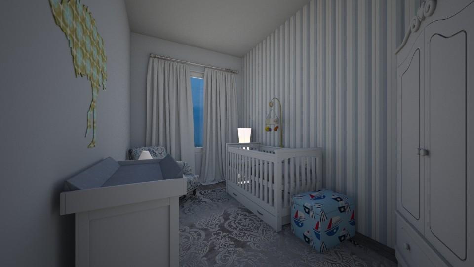 Stay calm - Kids room - by MietazHerbata