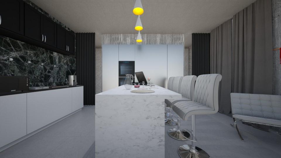Family kitchen - by Liza S