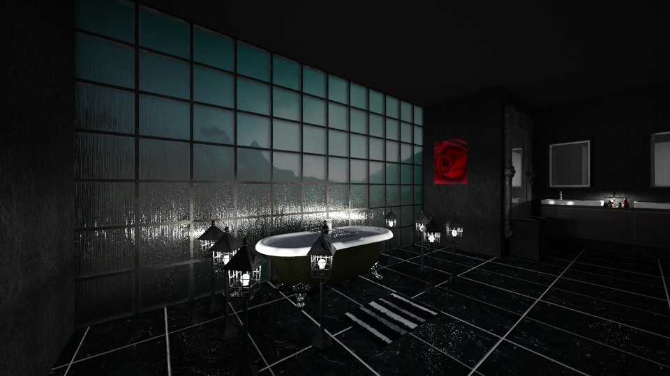 DARK BATHROOM - Bathroom - by nicolaswiggins
