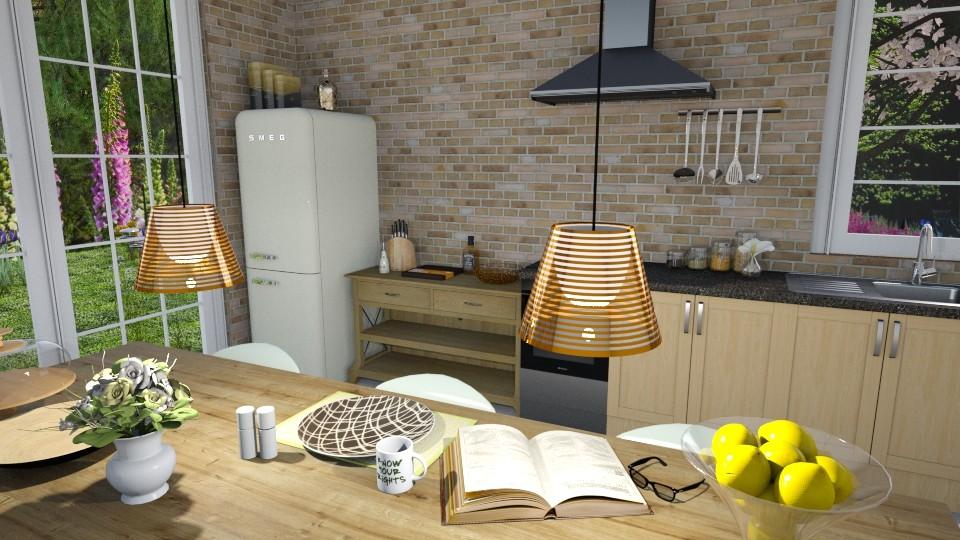 Dreamy Kitchen - Kitchen - by KimAlys