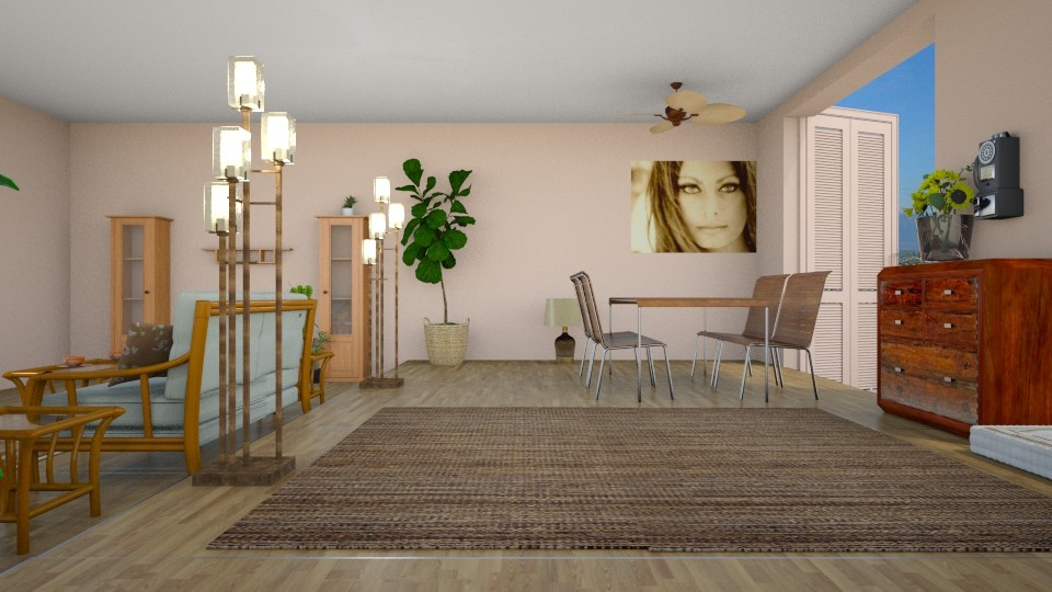 living room 2 - by BortikZemec