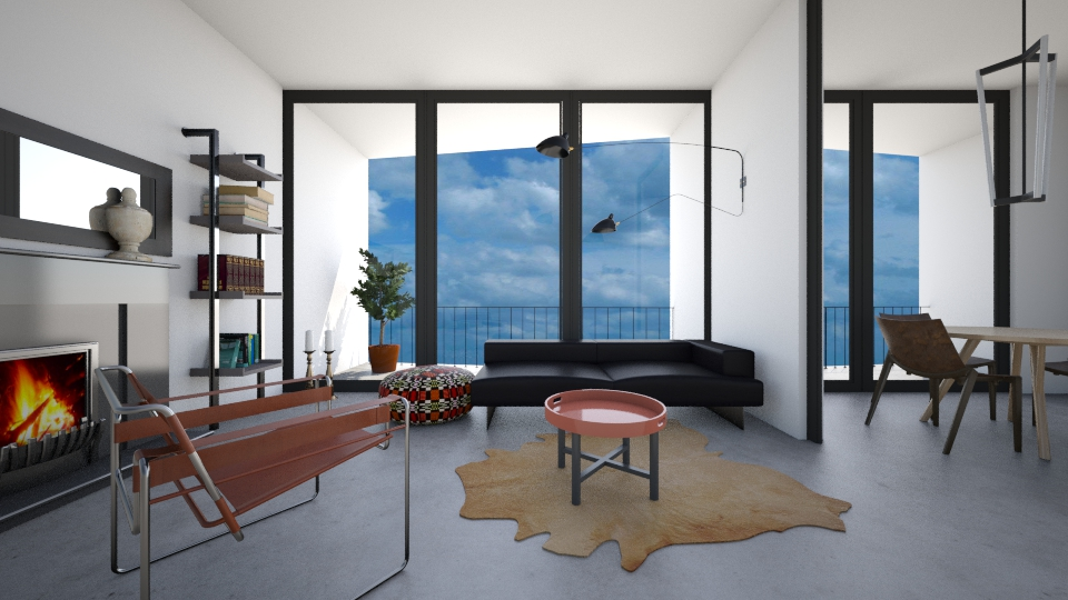 Minimaloo - Masculine - Living room - by 3rdfloor