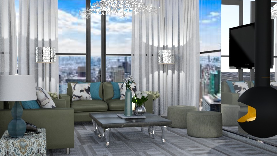 Tame - Feminine - Living room - by timeandplace