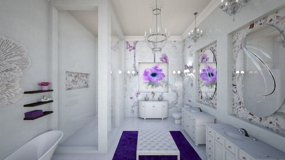 Purple Suite Bath - by DiamondJ569