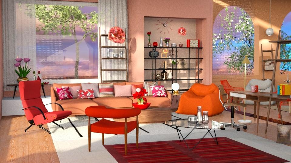 Jaya DWR - Living room - by anchajaya