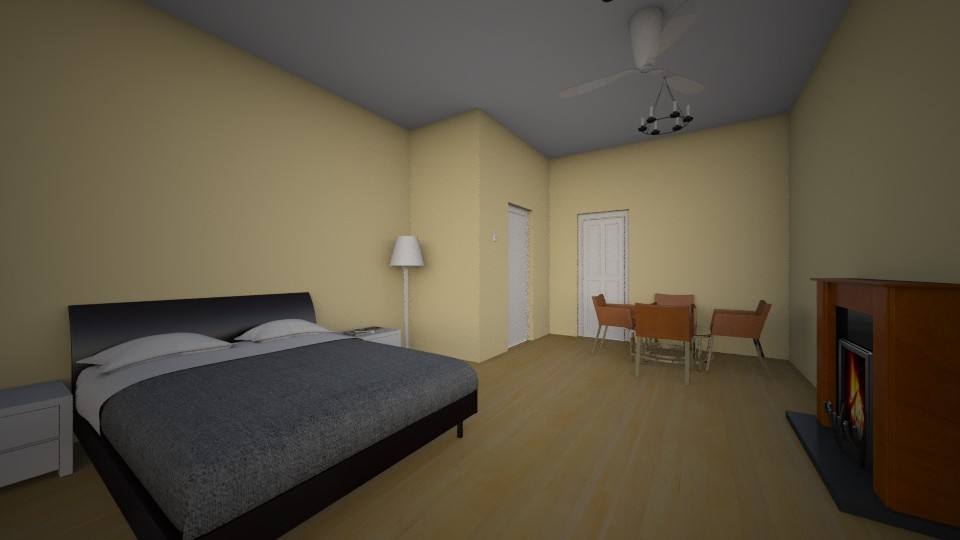 Tan small house - Modern - Bedroom - by Winner168