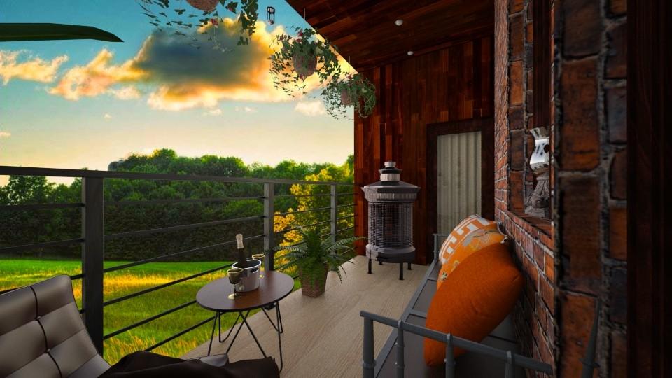 small balcony - Garden - by Missykittens