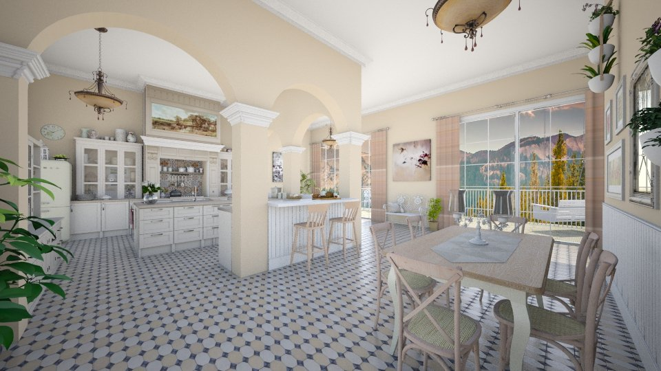 Kitchen like frenchbistro - by Nufra