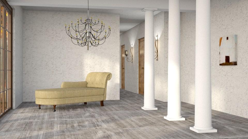 Column - Living room - by Liu Kovac