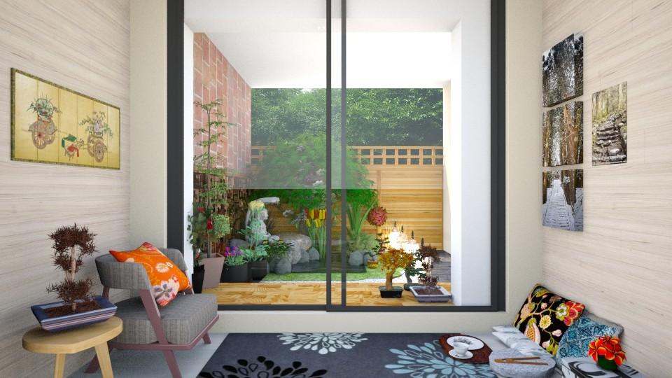 AKJP1 - Garden - by Teresa Valdes Beso