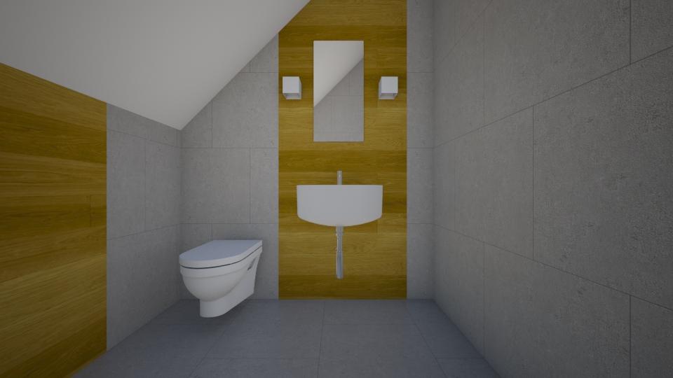 lazienka pietro - Bathroom - by skarbek