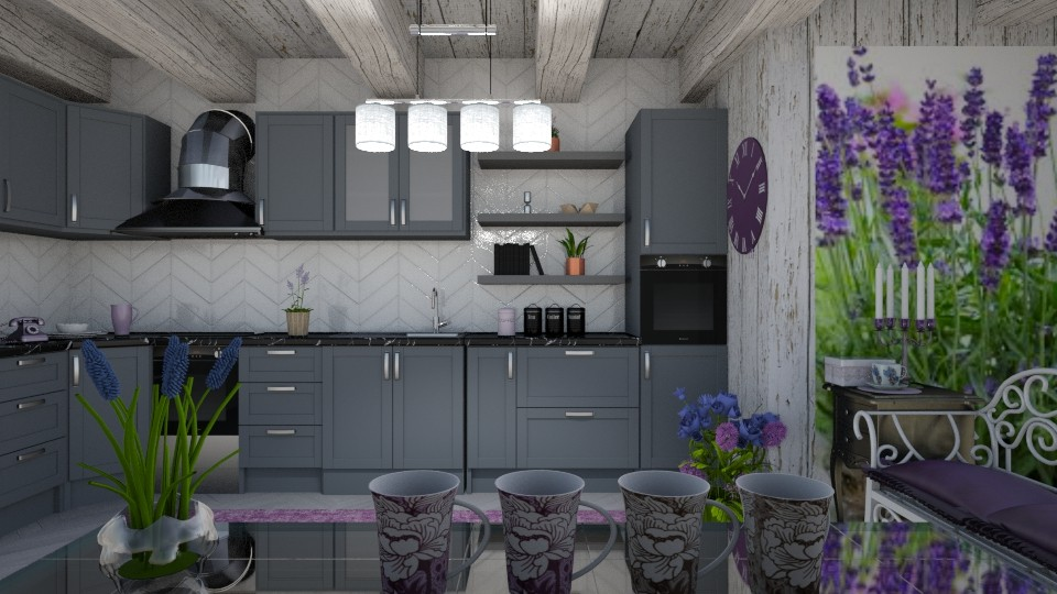 Kitchen lavander - by snjeskasmjeska
