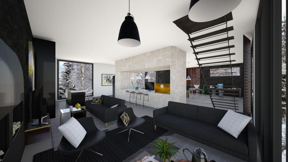 zithoek huis 4 - Living room - by karlijnpoos