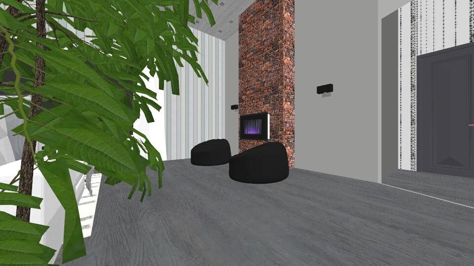 Minimalist - Living room - by lorenaabreur