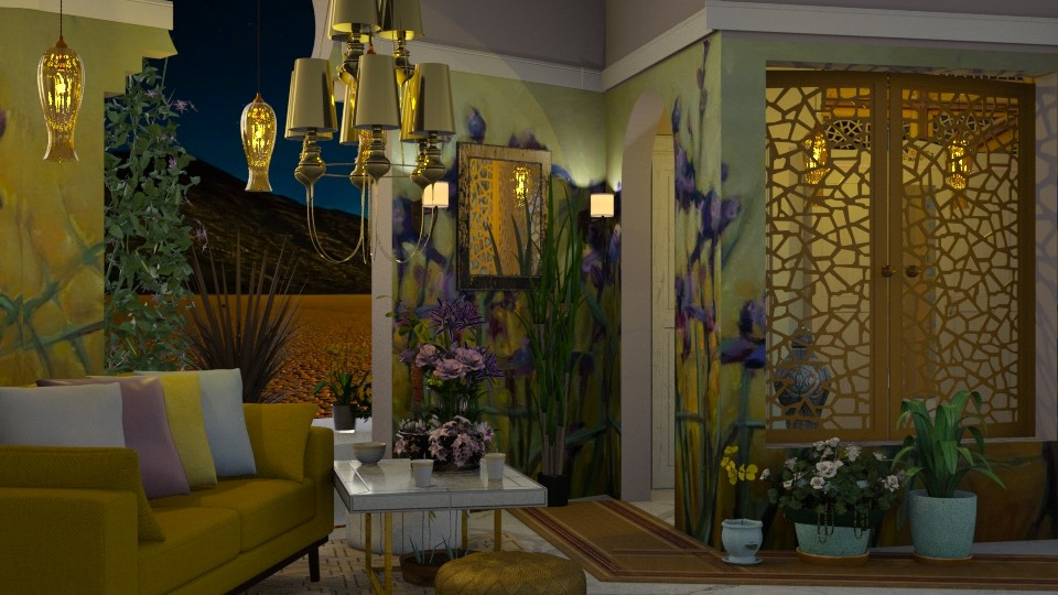 Layla details - by marocco