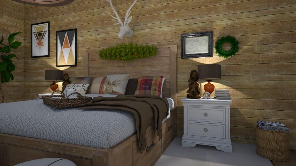 Winter - Bedroom - by Ancy