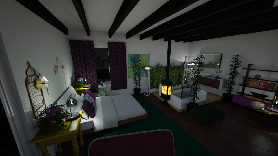bedroom - Bedroom - by fwhitef