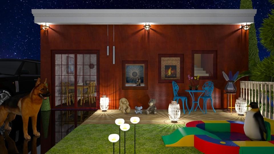 night gard - Eclectic - Garden - by Orionaute