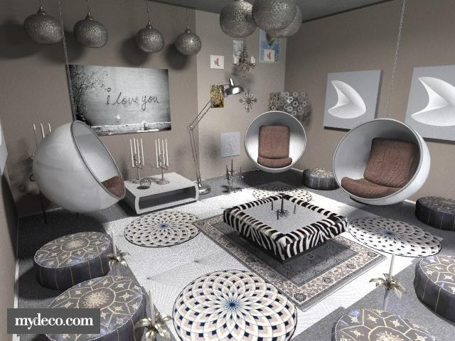 bb - Eclectic - Living room - by asifgoldpk