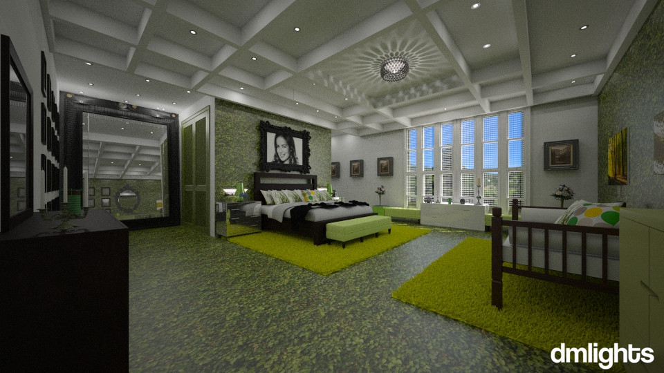 Verde  - Bedroom - by DMLights-user-994540