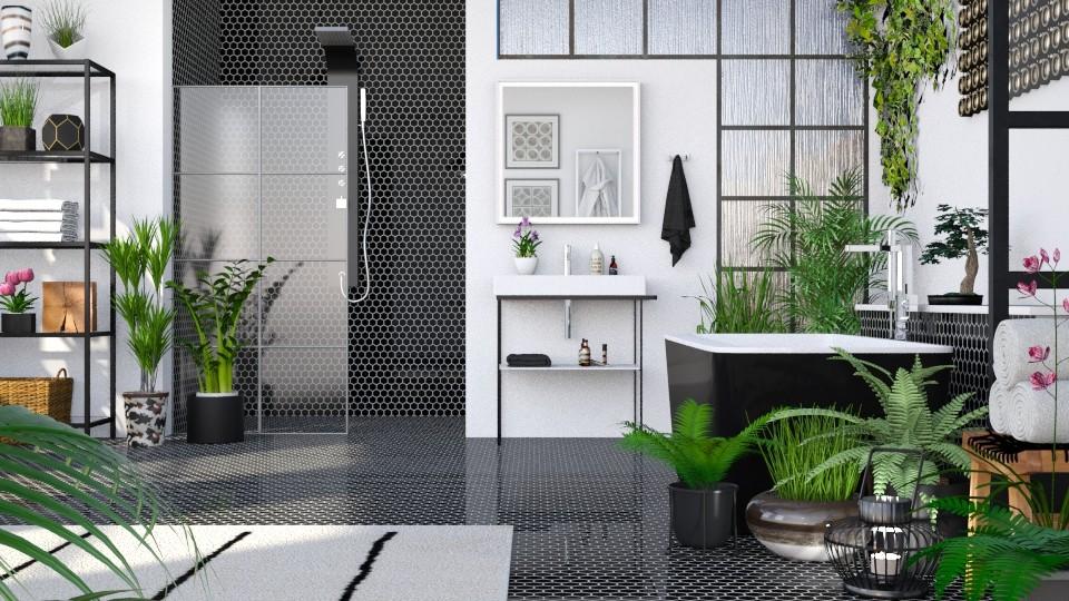 Urban Jungle Bathroom - Bathroom - by LB1981