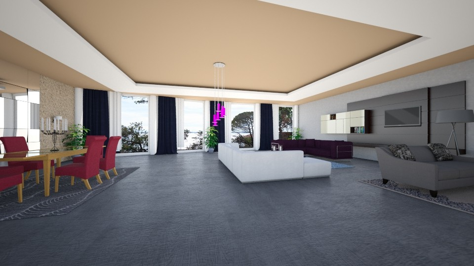 boubi - Living room - by louahdi abir
