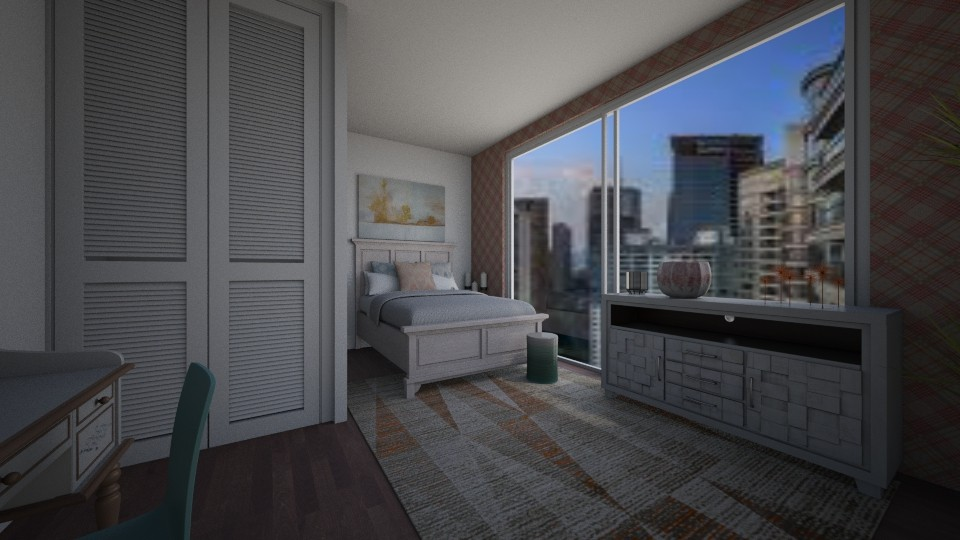 Modern Teen Bedroom - Modern - Bedroom - by ukuleledane