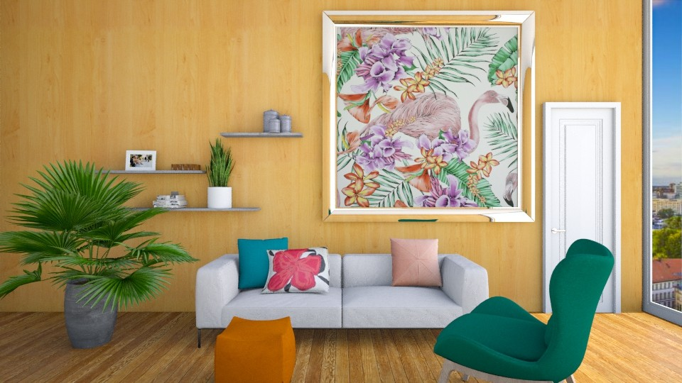 Tropical Feel - Living room - by Naavarin