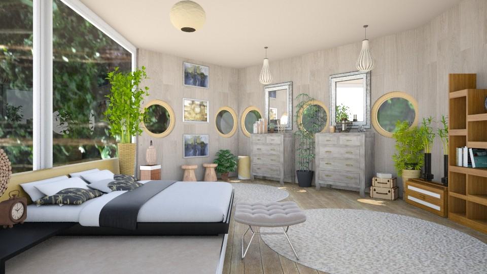 Peaceful - Global - Bedroom - by stokeshannah