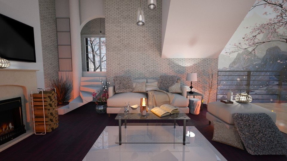 Living room - by Milapr