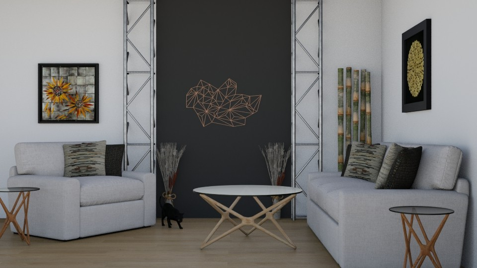 Black and White - Modern - Living room - by millerfam