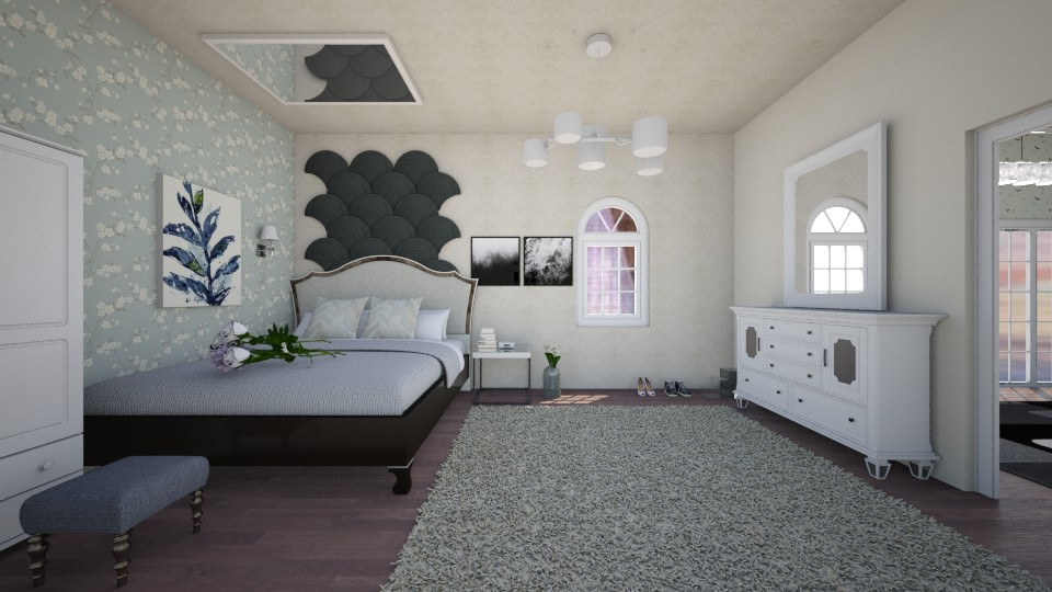 bedroom 1 - Bedroom - by India Arwyn