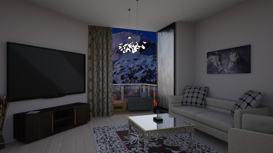 Norway Nights - Modern - Living room - by hainstein