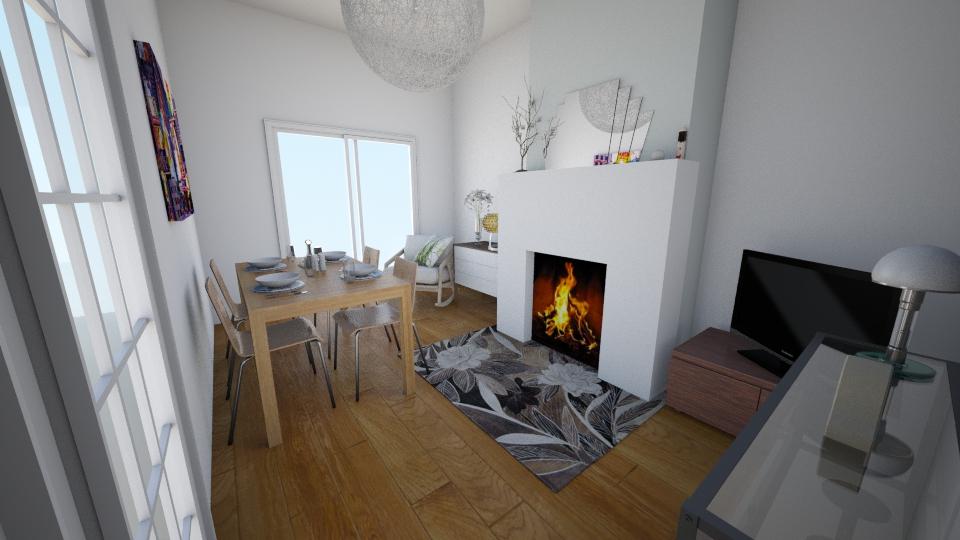 100 Bush Road - Eclectic - Dining room - by rachelbbridge