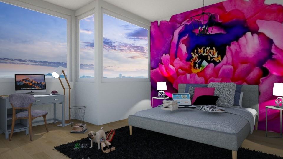messy - Bedroom - by Paris Lidgard