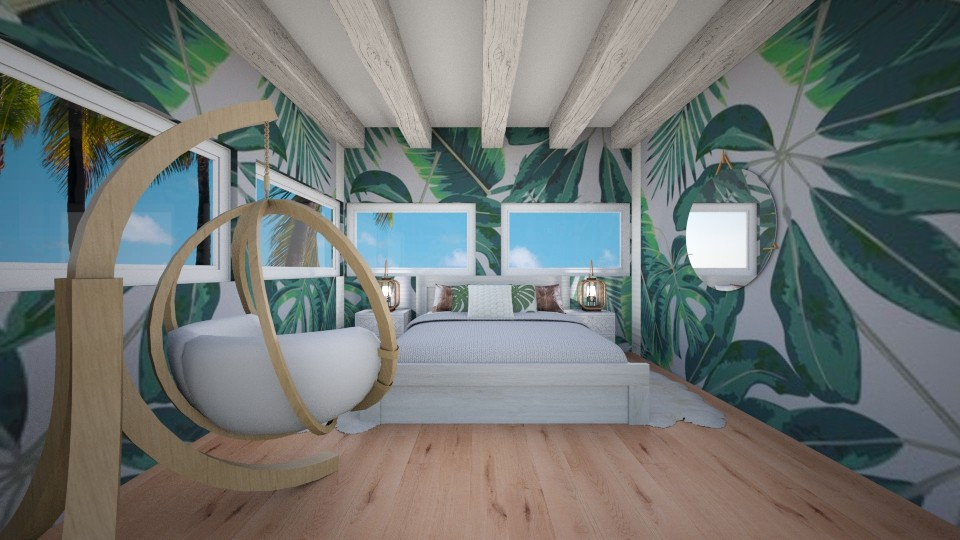 Teen Tropical Room - by SKS419