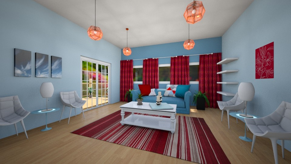 Patriotic Living Space - Classic - Living room - by millerfam