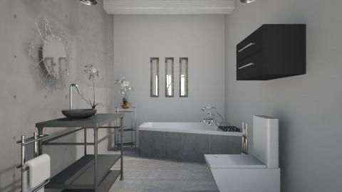 Industrial Bathroom - Minimal - Bathroom - by JazzyAllen
