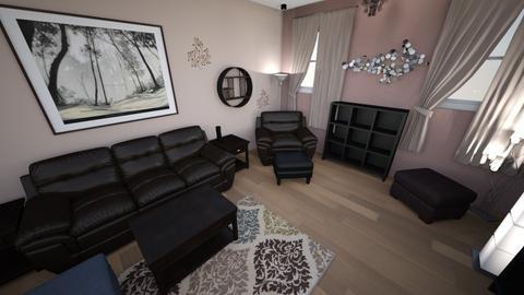 Contemporary Living Rm 7 - Living room - by lioness006