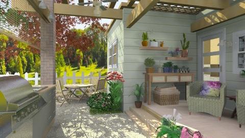 Outdoor Cooking - Modern - Garden - by Bibiche