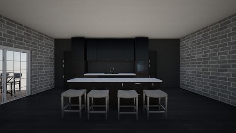 darkness - Kitchen - by BSand64