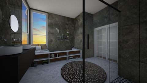 badkamer  - Modern - Bathroom - by lunaklaassen