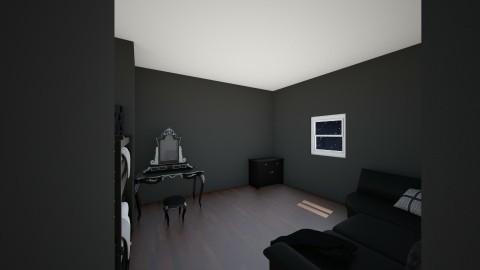 Dark Bedroom - Vintage - Bedroom - by kcaldwell05