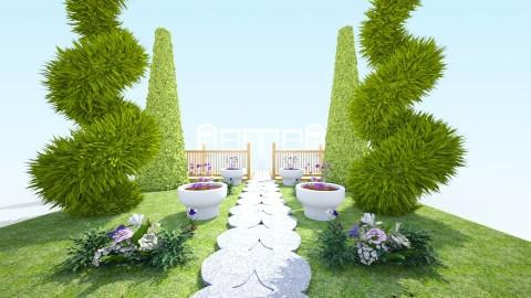 garden land - Garden - by TaisiBird