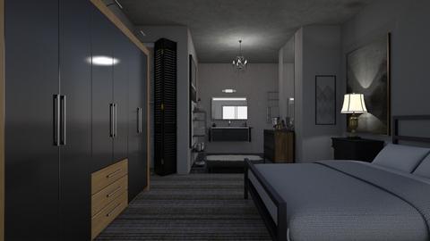boutique hotel - Bedroom - by allday08