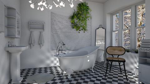 M_ Thonet - Bathroom - by milyca8
